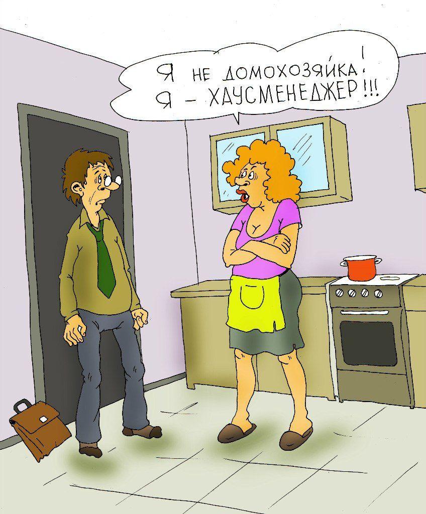 Картинки про домохозяек смешные, поздравления днем