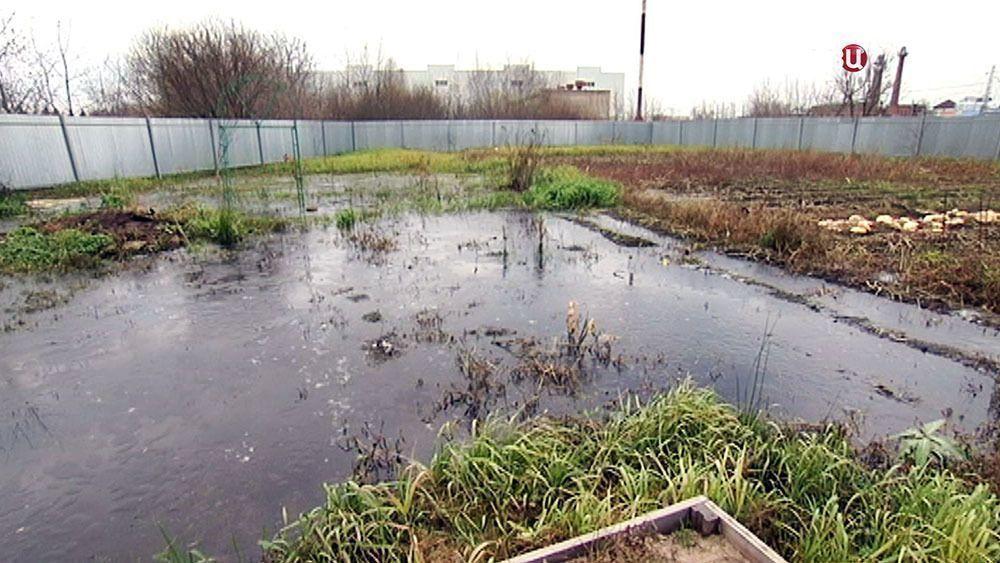 сосед заливает участок водой что делать