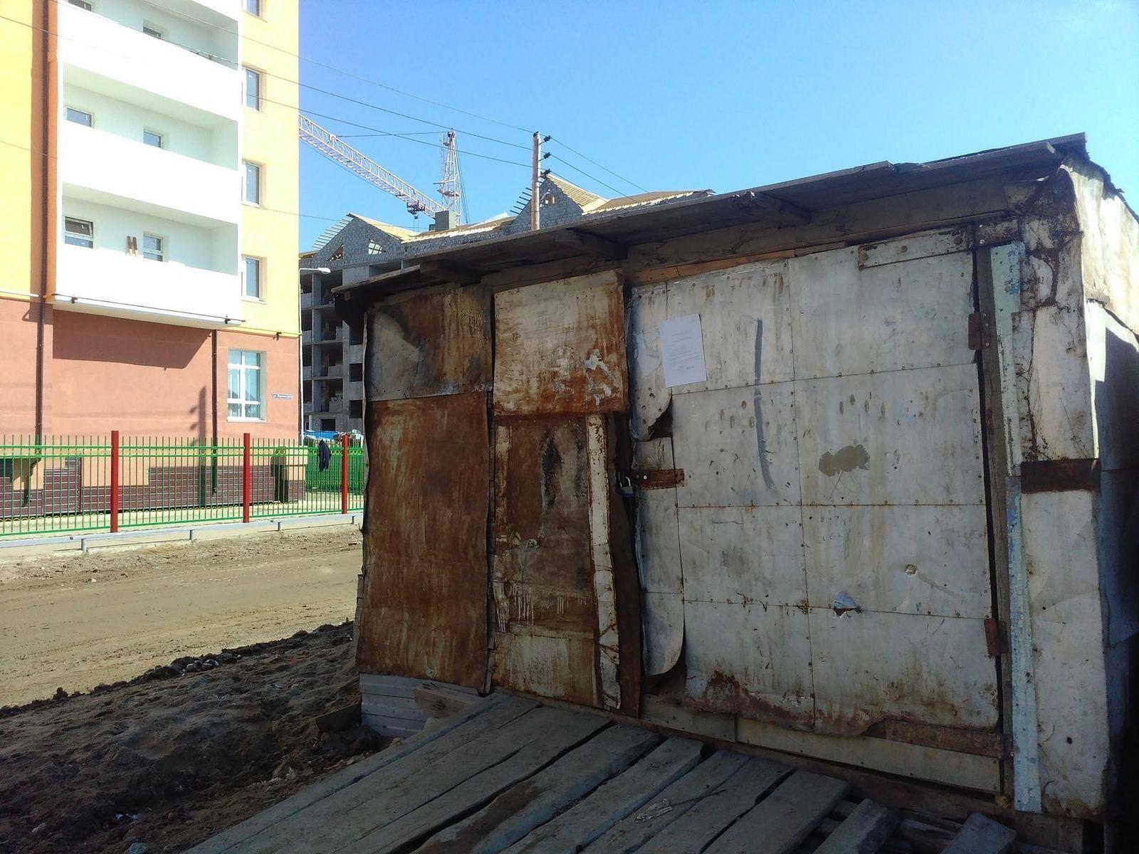Штрафстоянка железных гаражей гараж размером 8 8