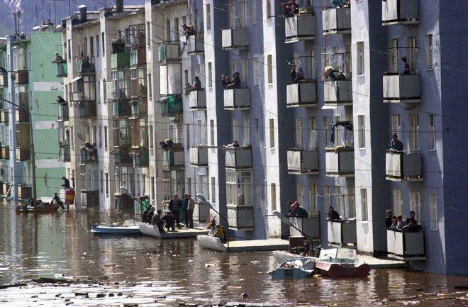 фото наводнения в ленске дель бока