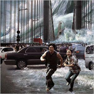 В районах цунами видят призраков